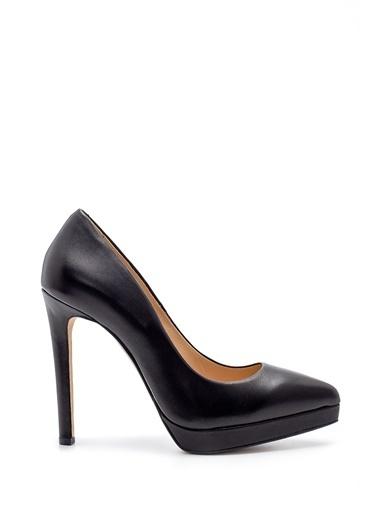 Derimod Kadın Ayakkabı (17745) Klasik Siyah